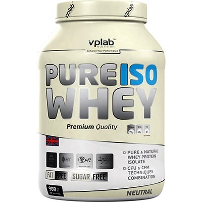 Протеин VPLab Pure Iso Whey 908g