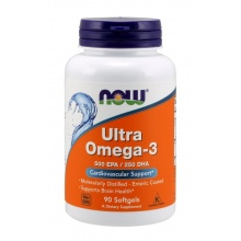Антиоксидант NOW Ultra Omega 3  90 капсул